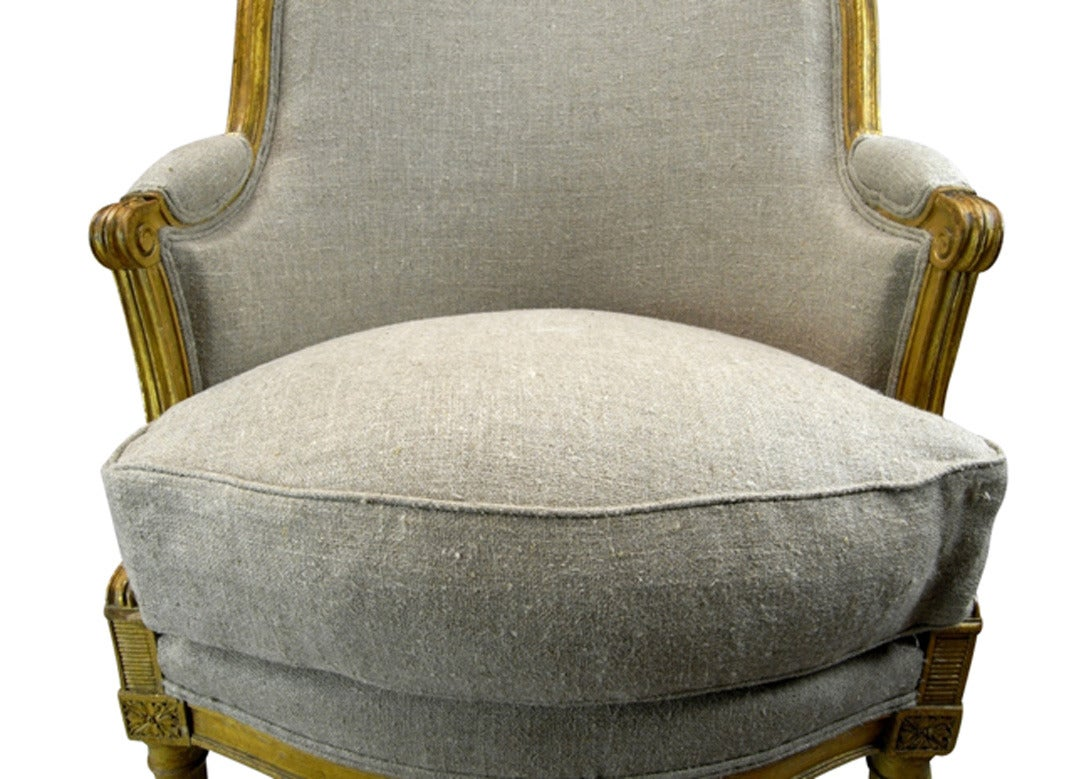 french barrel chair designs for living room 19th century louis xvi style back bergere