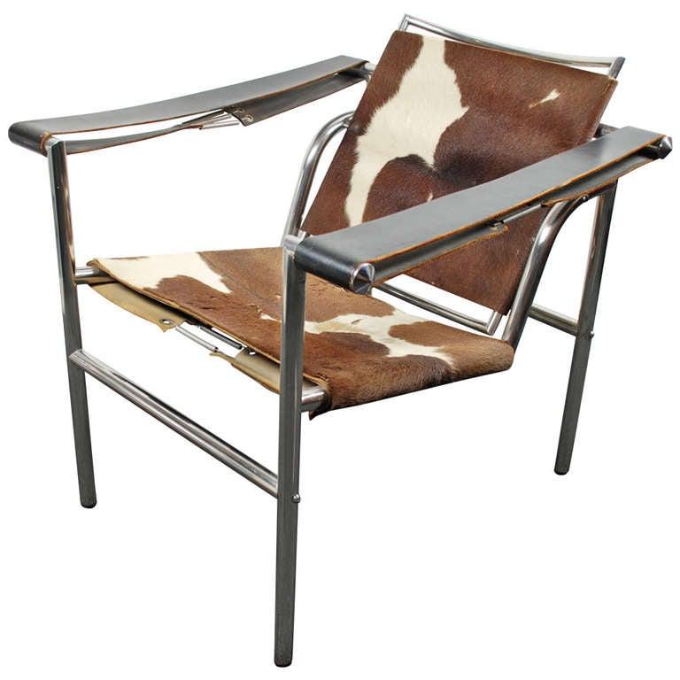 LC 1 Basculant Chair Le Corbusier Attr Thonet France
