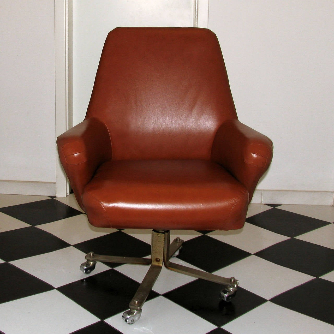 office chair very girl potty rare swivel desk by gianni moscatelli for