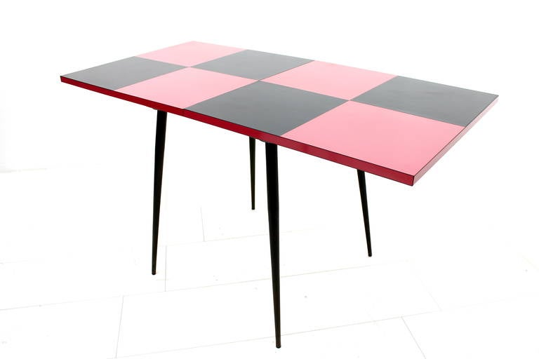 Nice Italian Folding Table at 1stdibs