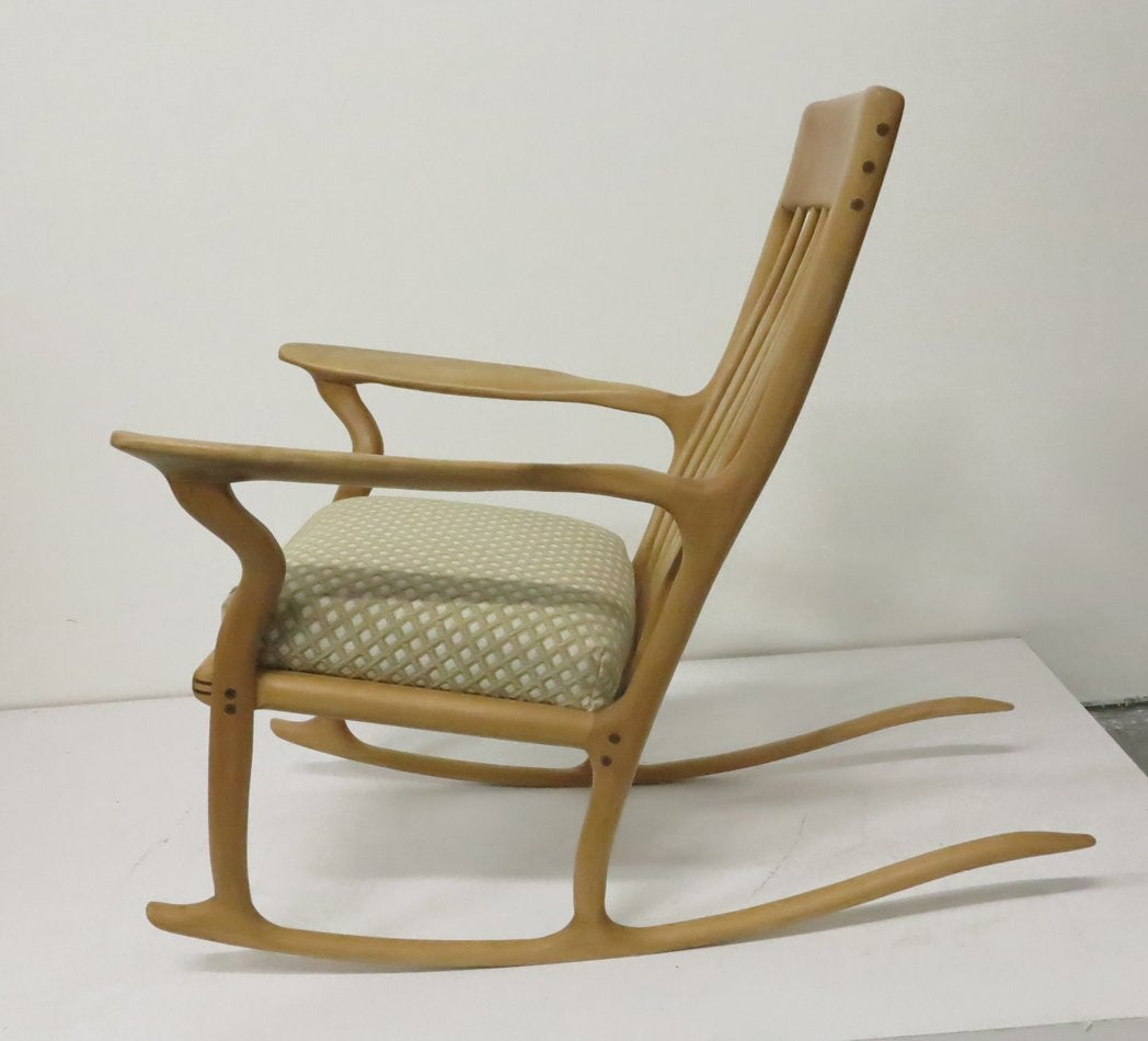 tree branch rocking chair beach lounge david l trapp studio furniture for sale at