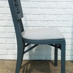 Modern Folding Chair Rocking Pads And Cushions Set Of Six Chinese Chairs At 1stdibs