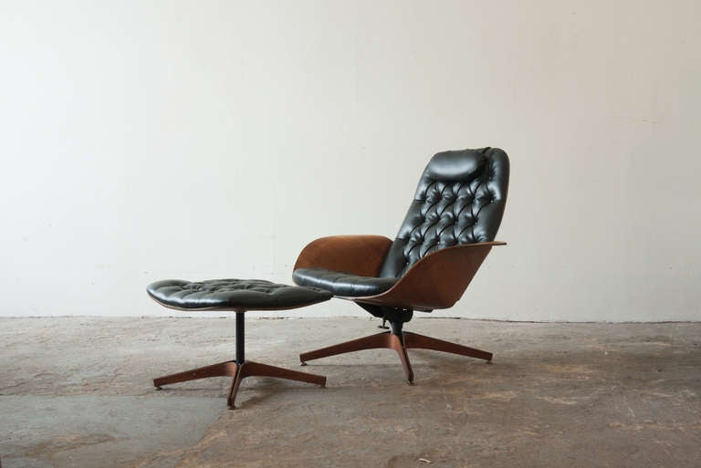 George Mulhauser Plycraft Mr Chair at 1stdibs