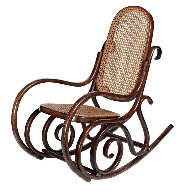 bent wood rocking chair kids computer bentwood child s for sale at 1stdibs