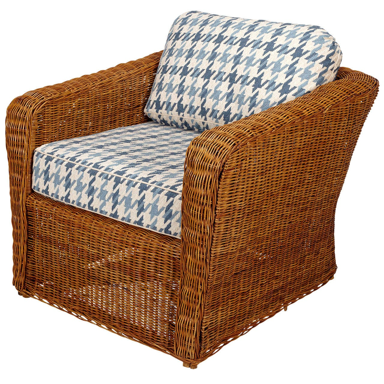 rattan or wicker chairs target folding black club chair at 1stdibs