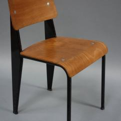 Prouve Standard Chair Sitting Room Chairs By Jean Prouvé Circa 1950 At 1stdibs