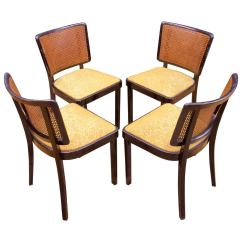 1930 Cane Back Sofa Metal Bed Parts 1930s Wooden Thonet Dining Chairs At 1stdibs