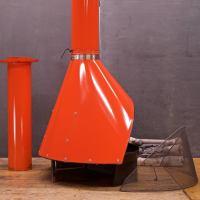1970s Free-Standing Preway Kiva Orange Freestanding ...