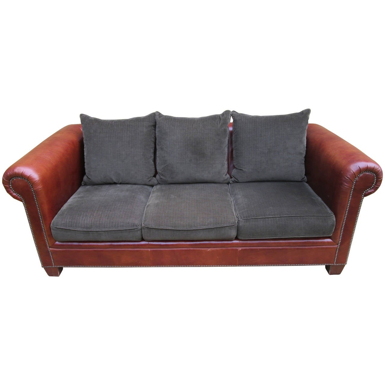 ralph lauren chair viking design leather sofa at 1stdibs