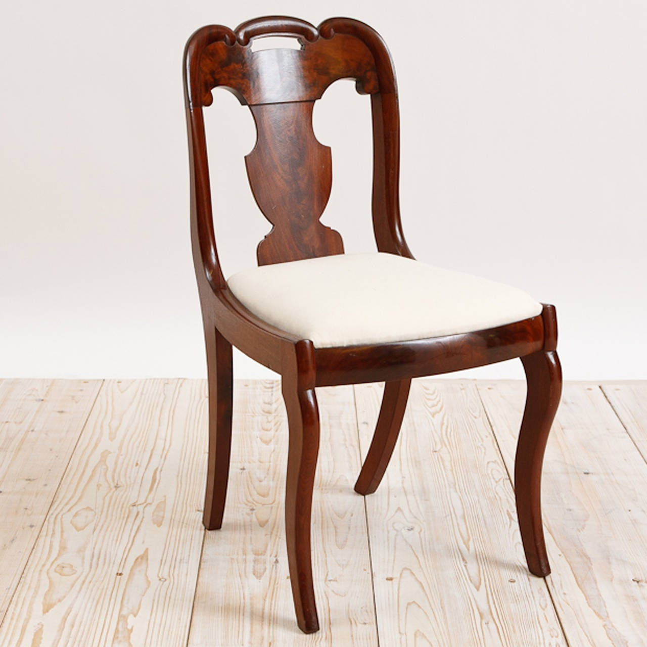 set of six dining chairs for sale walmart shower chair american empire circa 1830