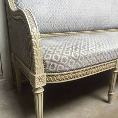 French Style Sofas For Sale Scs Leather Corner Sofa Bed Louis Xvi Painted At 1stdibs