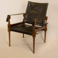 Leather Safari Chair Hanging Living Room Ideas Rosewood In The Style Of Carl Auböck For Sale