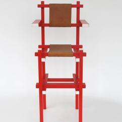 Gerrit Thomas Rietveld Chair Beach Chairs Clearance Rare Children 39s High By Gerard Van