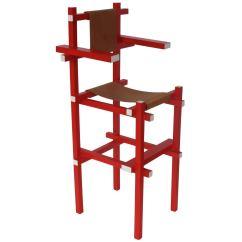 Gerrit Thomas Rietveld Chair Hanging Nairobi Rare Children 39s High By Gerard Van
