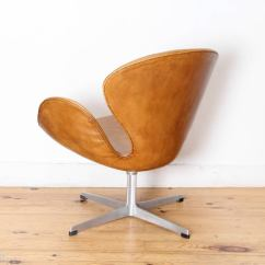 Arne Jacobsen Swan Chair Ladder Design By Produced Fritz Hansen From