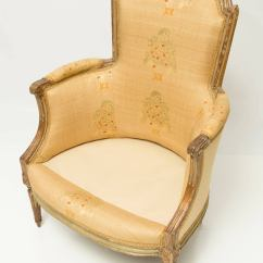 French Bergere Chair Chairs In Spanish Means 19th Century At 1stdibs