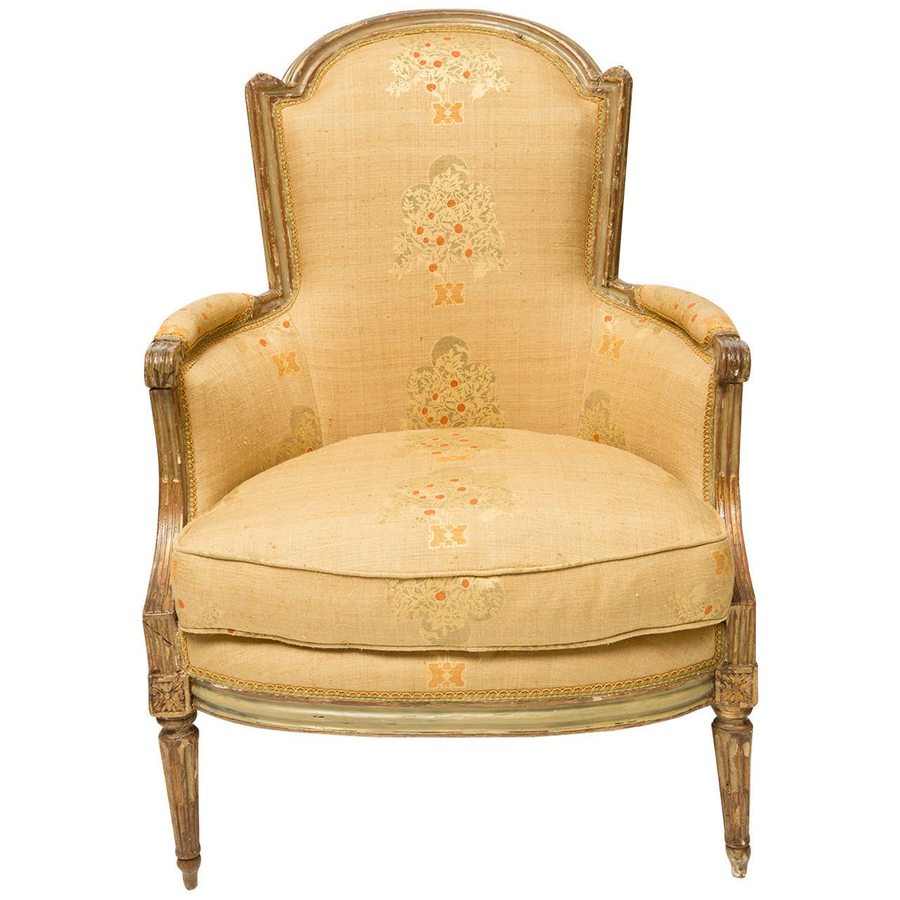 bergere chairs for sale ikea pink chair 19th century french at 1stdibs