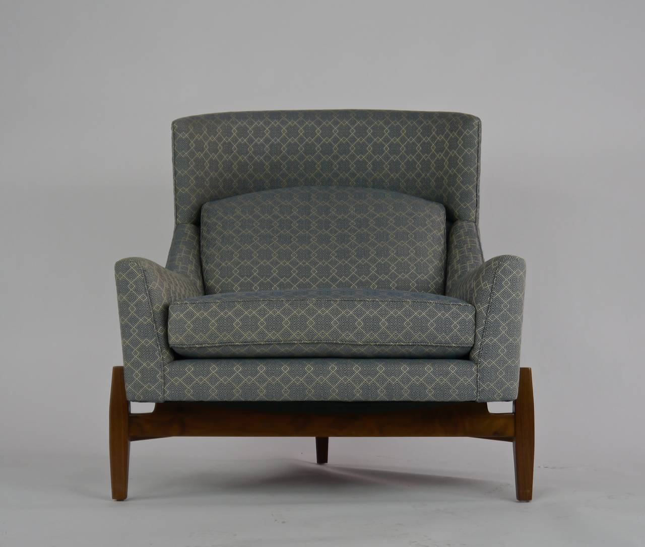big chair with ottoman costco recliner rare jens risom quotbig quot at 1stdibs