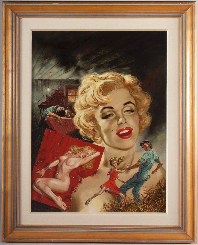 Marilyn Monroe Elvis James Dean Painting