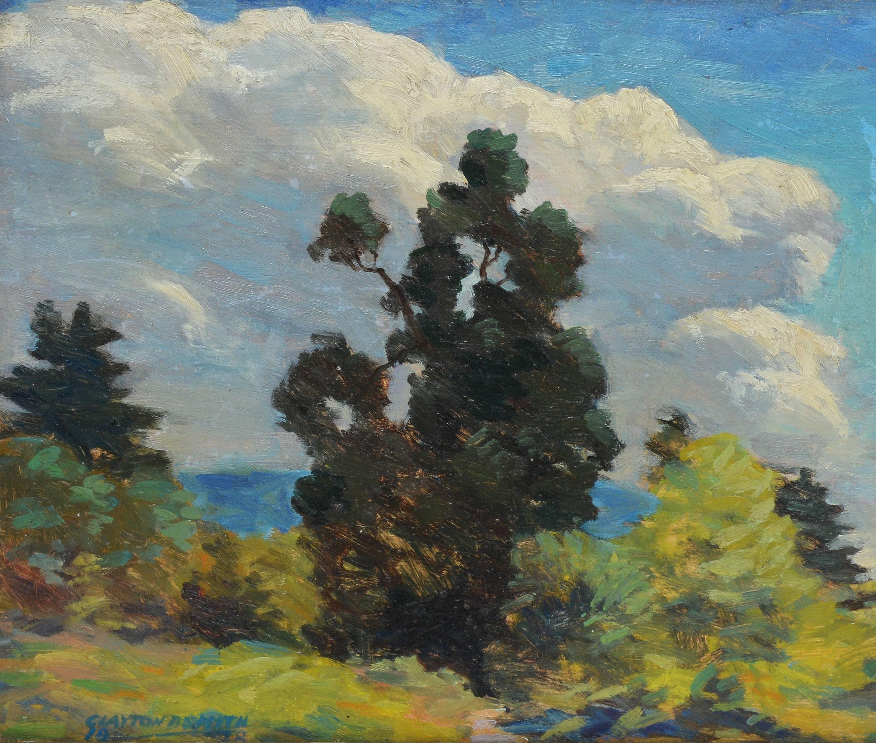 Clayton B Smith Rhode Island Summer Landscape Painting
