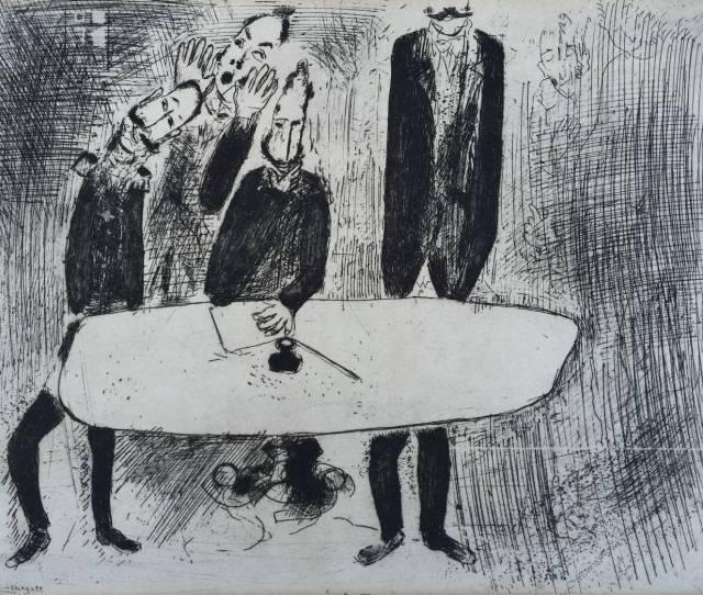 Marc Chagall Dead Souls