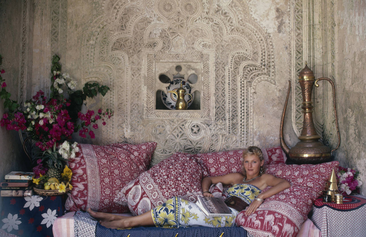 Slim Aarons Madame Jean Serpieri Limited Edition Estate