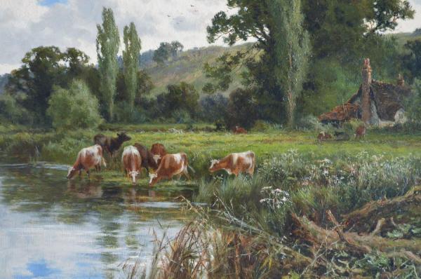 Henry Parker Oil Painting Landscape