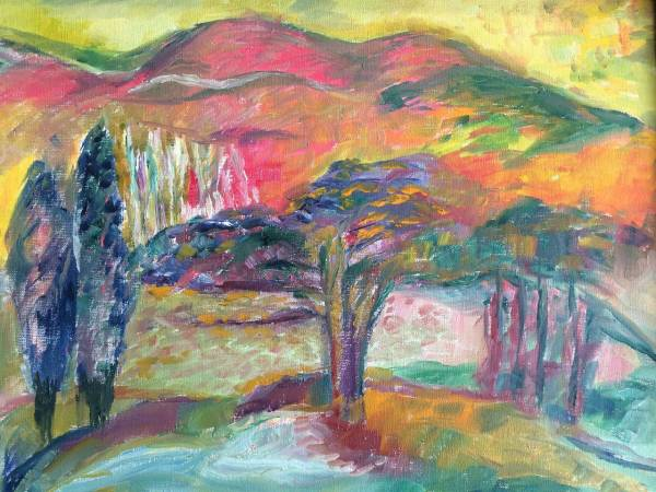 jehudith sobel - vibrant landscape