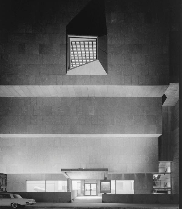 Ezra Stoller - Whitney Museum Marcel Breuer York Ny