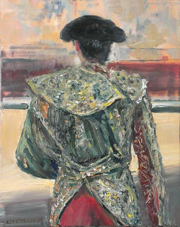 Mae Curates - Matador Series Of Oil Paintings Pigment