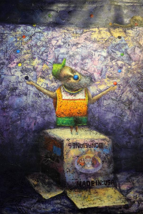 Yasiel Elizagary Cardenas - Juggler 1stdibs