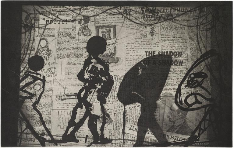 William Kentridge The Nose Print For Sale At 1stdibs