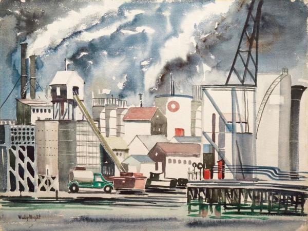 wesley wright - industrial landscape