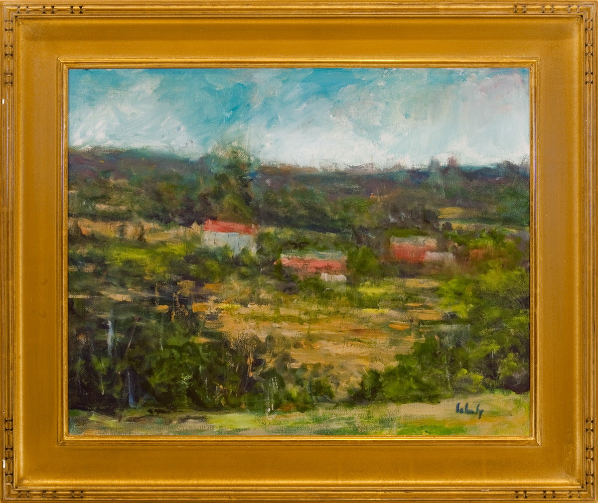 Evelyn Faherty In The Valley Painting For Sale At 1stdibs