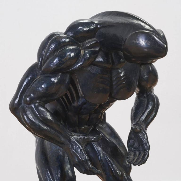 Robert Longo Rare Dickhead Robert Longo Bronze