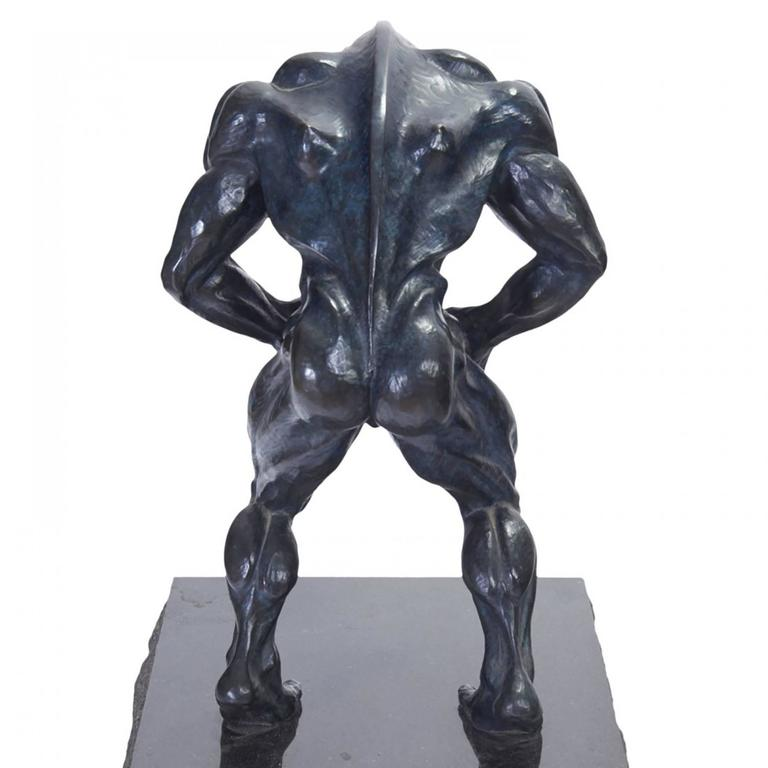 Robert Longo Rare Dickhead Robert Longo Bronze Sculpture Sculpture For Sale At 1stdibs