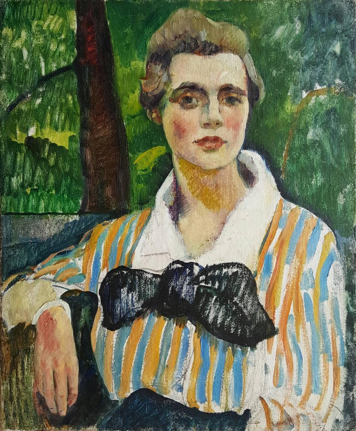 Leon Kroll Fauve Portait Of A Woman For Sale At 1stdibs