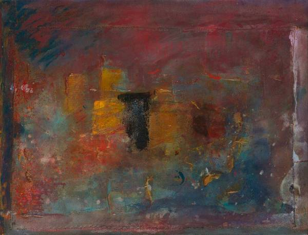 Artist Frank Bowling Paintings