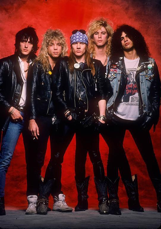 Neil Zlozower Guns N Roses 1988 Photograph For Sale