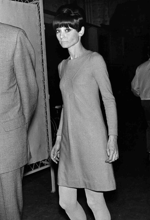 Unknown Audrey Hepburn Candid Photograph For Sale At 1stdibs