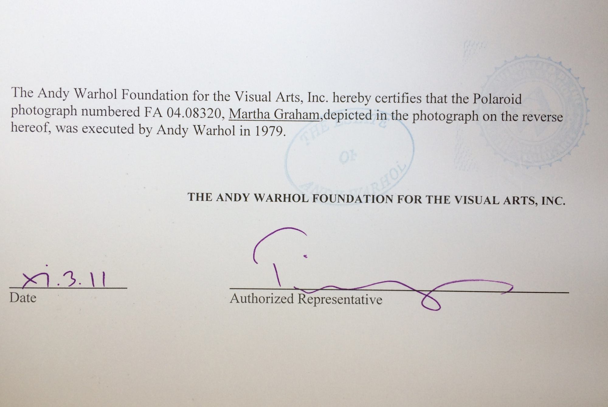 hight resolution of andy warhol andy warhol polaroid photograph of martha graham 1979 for sale at 1stdibs