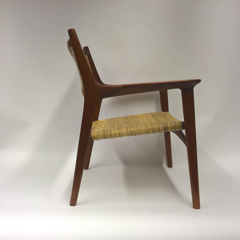 cane easy chair wheelchair ramp width hans j wegner for johannes hansen jh 516 teak