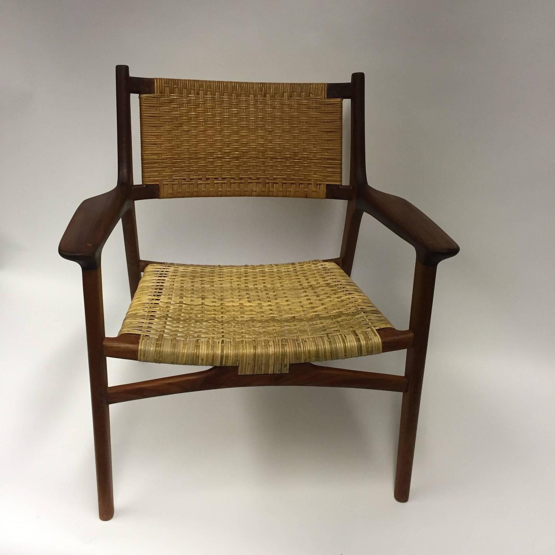 cane easy chair massage sofa hans j wegner for johannes hansen jh 516 teak