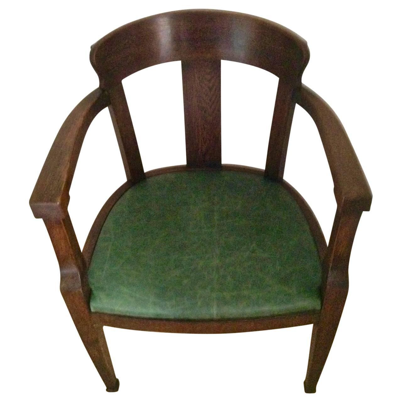 img chairs for sale indoor swing chair bedroom early solid oak art deco desk at 1stdibs