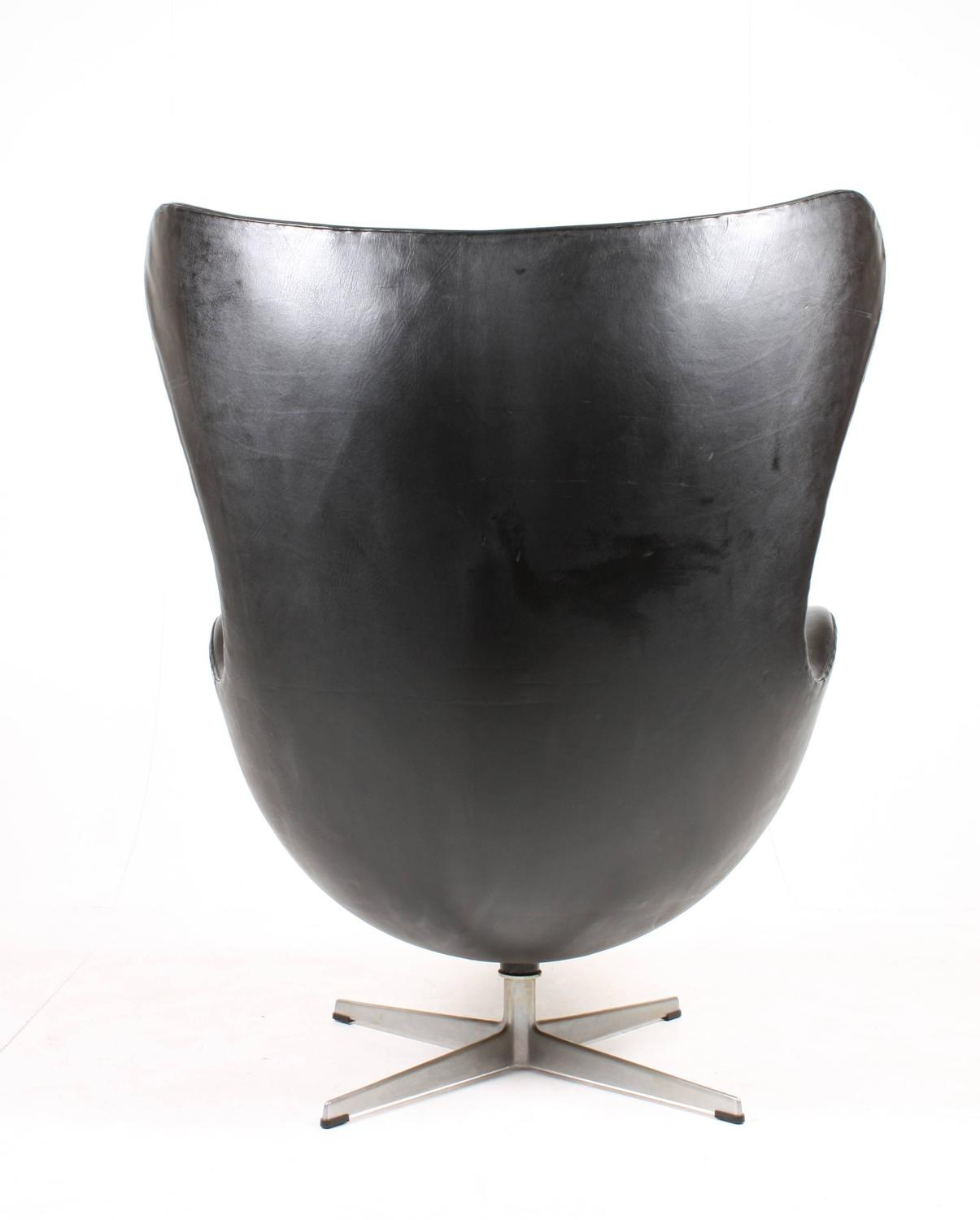 egg chairs for sale drop leaf table with perfect black chair at 1stdibs