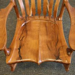 Sam Maloof Rocking Chair Plans Hal Taylor Office Mat 36 X 60 Landon Sanborn Velvet Mesquite