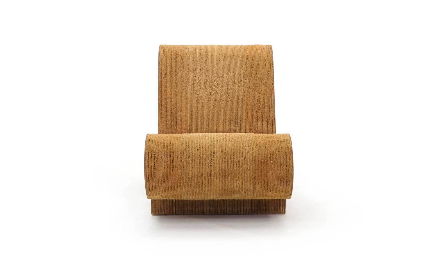 frank gehry cardboard chair top rated beach chairs rare original easy edges contour