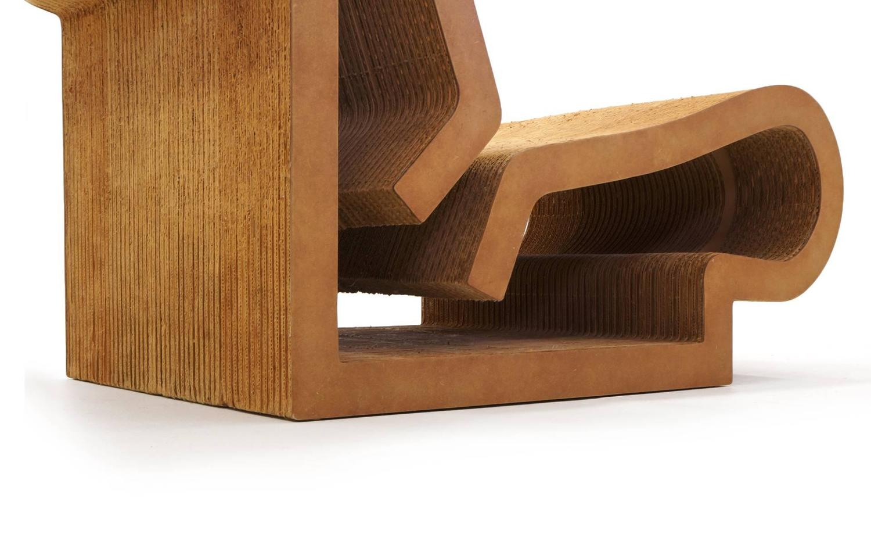 frank gehry cardboard chair desk for teenage girl rare original easy edges contour