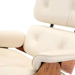 Eames Chair Cushion Lillian August Chairs Vintage Rosewood Lounge And Ottoman With New