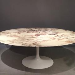 Tulip Table And Chairs Malawi Johannesburg Eero Saarinen Calacatta Marble Swivel Set By Knoll At 1stdibs